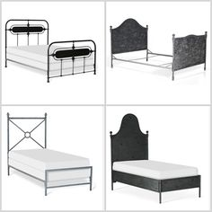 Spring is here and with that brings new designs...and some past favorites! This week we will be talking about iron beds. This versatile material can be either dressed up or down to accomplish the perfect peaceful retreat. #interiordesign #ironbeds #classic #design #beds #newdesigns #oldfavorites #home #girlsrooms #customdesigns #nurseries #baby #bedrooms #custompackages
