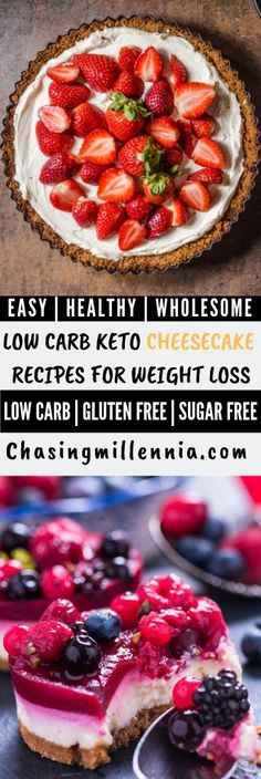 Here are some of the perfect low carb cheesecake recipes that you will ever find on Pinterest.   All the recipes listed here are easy, quick, healthy, keto friendly, low carb, low cals, gluten free and sugar free (thanks to stevia)  Some of these cheesecake fluffs come in a mug, some use an instant pot and most are even crustless but all of them are gonna staisfy your sweet tooth   #foodideas  #foodlovers  #dessertrecipes Sugarfree Cheesecake Recipes, Sugar Free Cheesecake, Low Carb Cheesecake Recipe, Pumpkin Cheesecake, Ketosis Desserts, Low Carb Desserts, Low Carb Recipes, Keto Snacks, Stevia