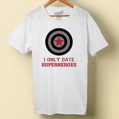 4c9ac7ce3 Marvel Bucky Barnes, I Only Date Superheroes, Iron On Digital Download,  Iron-on Design, Marvel Tee Shirt, The Winter Soldier, Infinity War
