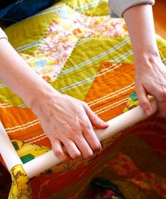 hand quilting instructions - well you just never know!