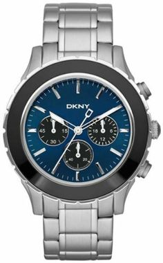 DKNY 3-Hand Chronograph Stainless Steel Men's watch #NY1512 DKNY. $142.91. Mineral Crystal. 46mm Case Diameter. 50 Meters / 165 Feet / 5 ATM Water Resistant. Quartz Movement. Save 27%!