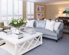 clean/fresh beach living room
