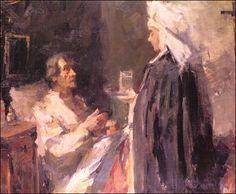 "'' The Nurse'' by Vikatos Spyros .-Βικάτος ""Η νοσοκόμα"""