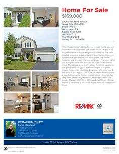 Another Great Home in Big Run Ridge for sale!  #RelaxItsREMAX ~ 3906 Snowshoe Avenue ~