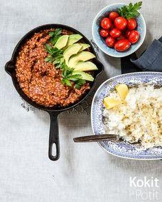 Meksikolainen linssipata vilahti jo kuvina blogissa tovi sitten , mutta silloin en vielä saanut jakaa teille tätä loistavaa reseptiä. Va...