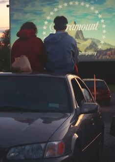 Drive In movie theater. You and I are going to a drive in movie this summer come HELL or HIGH WATER!