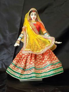 Indian hand made doll.......