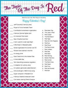 Pin On Valentines Day Quiz And Answers