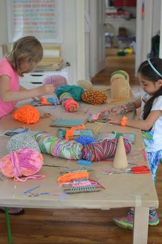 Hacer tapices con niños | Kireei, cosas bellas