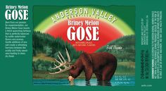 Anderson Valley Briney Melon Gose headed to cans