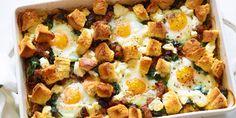 Italian Sausage and Egg Bake. Giada