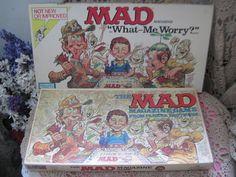 2 Vintage  Mad Magazine Games 1979 Version by Daysgonebytreasures