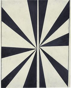 Mark Grotjahn, Untitled (Black and Cream Butterfly #548), 2005.