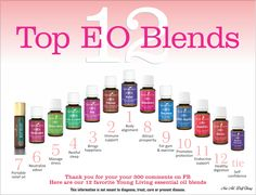 Everyone loves Young Living singles AND these top 12 blends