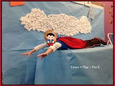 Have kids bring an old t shirt from home to make capes! Tons of ideas and this is an awesome photo op!