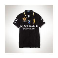 Polo Ralph Lauren Custom Black Watch Big Pony ($98)