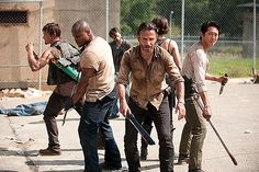 #2: The Walking Dead -- BOOM! It definitely has been one of the top shows of 2012