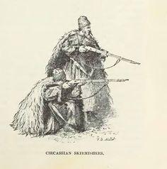 Circassian warriors...