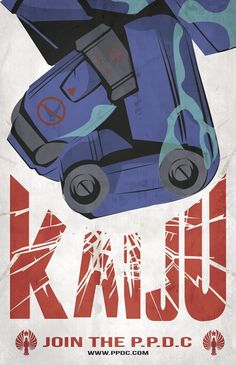 Pacific Rim - propaganda poster