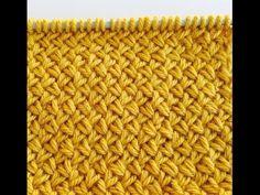 knitting stitch patterns Diagonal basket weave Le POINT DE VANNERIE Вязать узор мелкая плетенка - YouTube