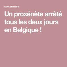 Un proxénète arrêté tous les deux jours en Belgique ! Amsterdam, Belgium, Profile