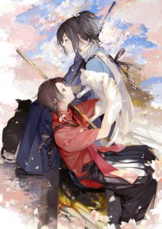 Tōken Ranbu - Yamatonokami Yasusada and Kashū Kiyomitsu