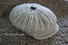 Boys Brimmed Cap Crochet Pattern (FREE Crochet Pattern)