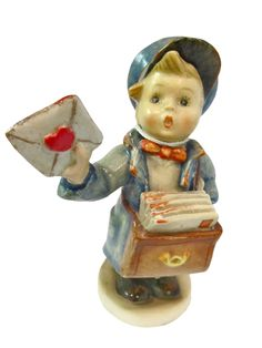 Goebel Hummel 'Postman' figurine from East West Antiques at Alfies
