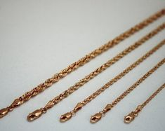 18 inches 2 mm 22kt Solid Gold Chain Necklace For men women   Etsy 24k Gold Chain, Gold Rope Chains, Silver Chain Necklace, Men Necklace, Arrow Necklace, Photo Jewelry, Women's Earrings, Necklace Lengths, Rose Gold