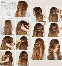 Sposób na upięcie długich włosów więcej na http://www.sposobnawszystko.pl/jak-upiac-dlugie-wlosy-fryzury-z-dlugich-wlosow/