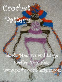 Posh Pooch Designs Dog Clothes: Small, medium and Big Dogs Crochet Patterns