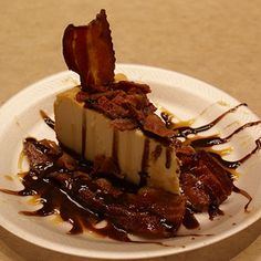 Bacon Cheese Cake- Arkansas Travelers......Food Fight | MiLB.com Fans | The Official Site of Minor League Baseball