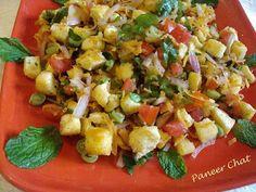 Tasty Appetite: Letz Relishh…!!! Event Announcement & Paneer Chaat