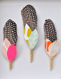 feathers + arrows