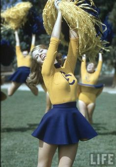 What cheerleaders still look like when I picture them in my head.