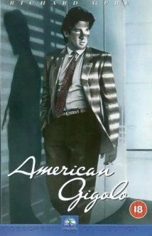 OMG!  I almost forgot one of my favorite films... American Gigolo (1980)  -- Totally fell in love with Richard Gere while watching this.  Damn was he sexy!