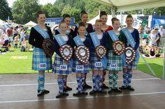 Highland Dancers - Inveraray Highland Games