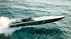 Mercedes-AMG and Cigarette built the 3,100-hp AMG GT R of boats - Autoblog