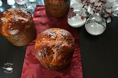 Deliciosa receta de Panettone de Chocolate y naranja escarchada de Disfrutando de la Cocina