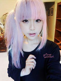 Resultado de imagen para peinados pastel goth