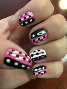 Fun dots and stripes