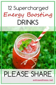 12 Awesome homemade energy drinks