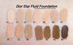 Dior skin star foundation swatch - Google Search