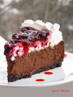 Dessert Cake Recipes, No Cook Desserts, Dessert Bars, Easy Desserts, Savory Cheesecake, Chocolate Cheesecake, Cheesecake Recipes, Homemade Sweets, Homemade Cakes
