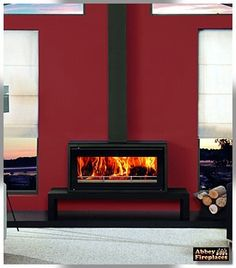 Stovax Riva Freestanding woodheaters by Abbey Fireplaces. Hanging Fireplace, Home Fireplace, Modern Fireplace, Living Room With Fireplace, Gas Fireplaces, Fireplace Ideas, Living Rooms, Cubes, Log Fires