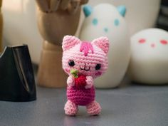 Amigurumi Baby Cat  Crochet Pattern by AmigurumiWizard on Etsy, $3.00