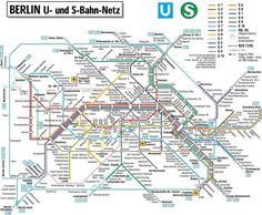 Berlin subway map. I think I'm starting to miss BART. Maybe.