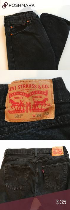 Levi 501 Jeans Levi 501 Jeans. Size W34. L32.  These jeans have been washed but never worn. Great condition Levi Pants
