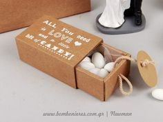 Bombonieres in customade matchboxes More: https://www.bombonieres.com.gr/ylika/mpomponieres-spirtokouto-newman-ektiposi