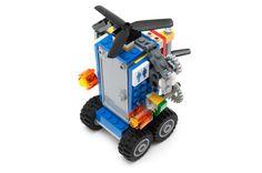 LEGO FLYING PORTABLE TOILET